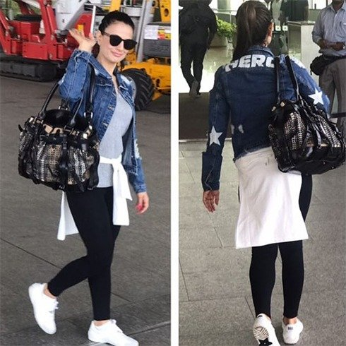 Ameesha Patel At Airport