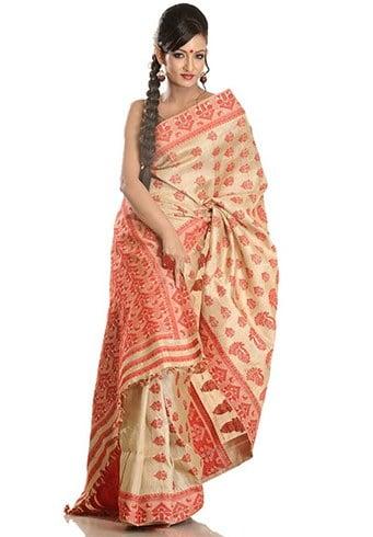 Best Muga Silk Sarees