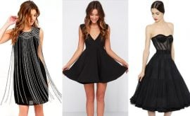 Black Dress for a Wedding Guest