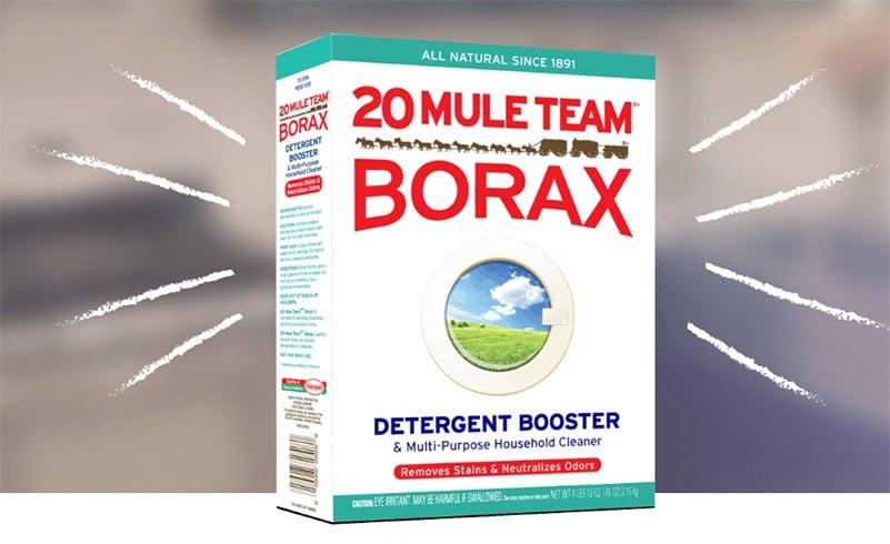 Borax White Clothes