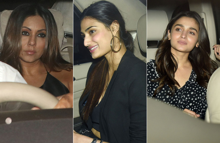 Celebrites at Deepika Padukone Party