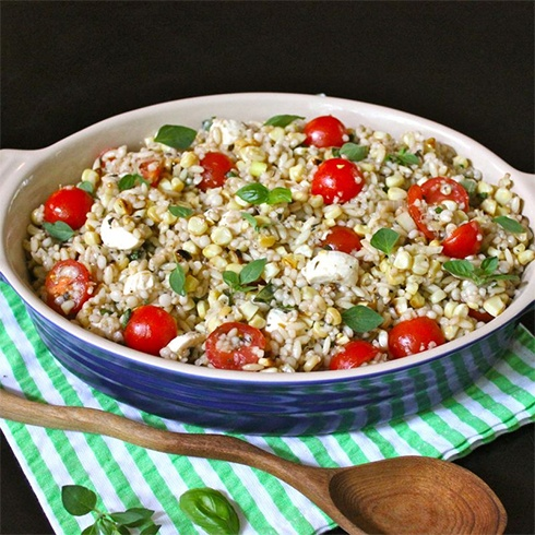 Couscous and Cherry Tomatoes