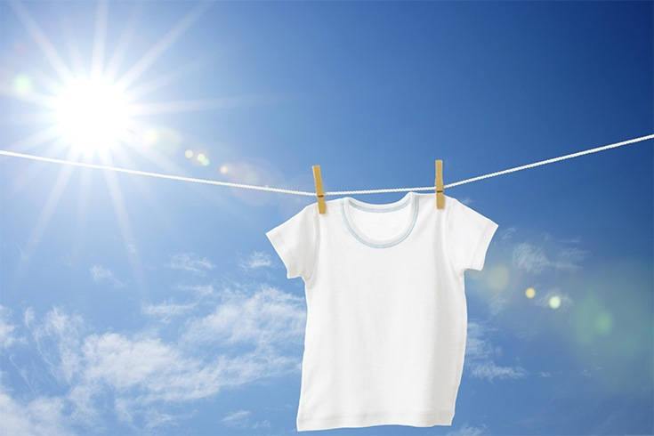 Dry White Clothes