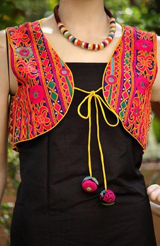 Embroidered Gujarati Jackets