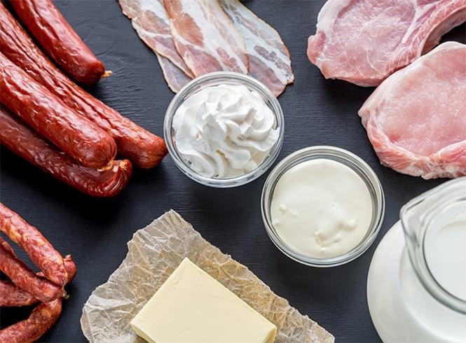 High Cholesterol Food