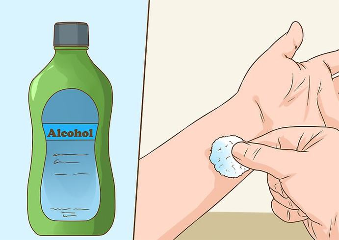Remove Permanent Marker With Use alcohol
