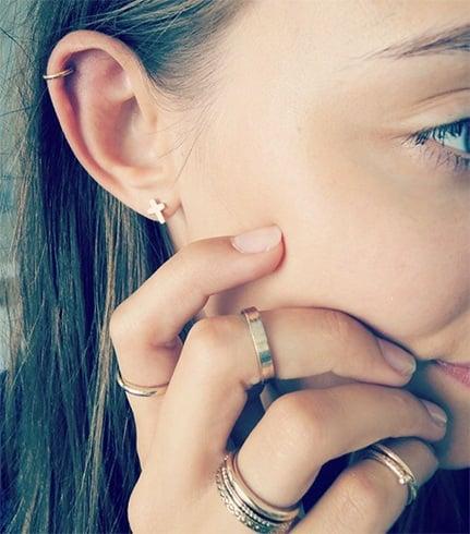 How To Wear Multiple Ear Piercings