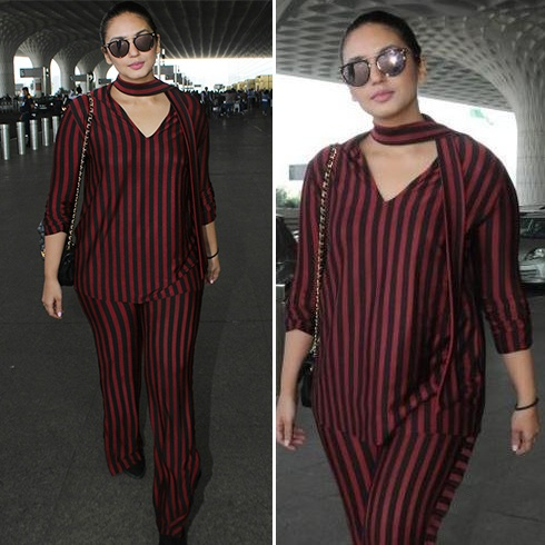 Huma Qureshi At Airport