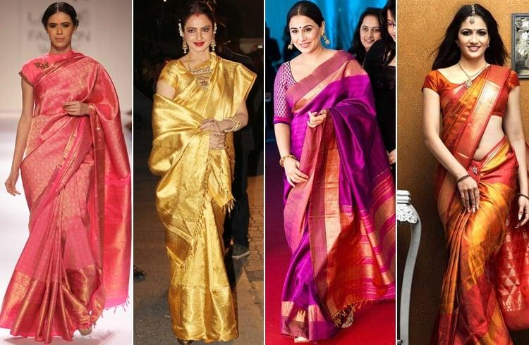 Kanchipuram Sarees Fashion