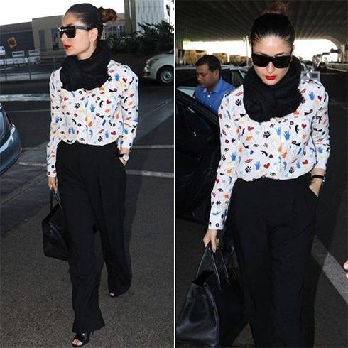 Kareena Kapoor at Airport Fashion