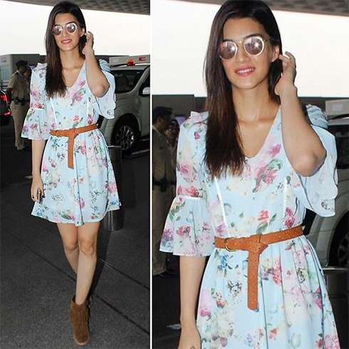 Kriti Sanon At Airport