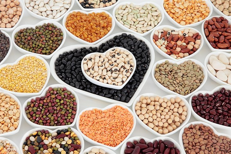 Lentils and beans