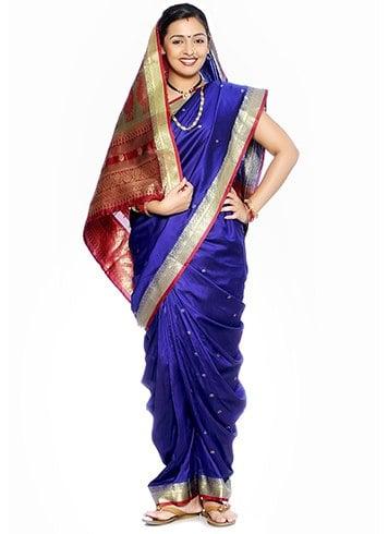 Maharashtrian Nauvari Style