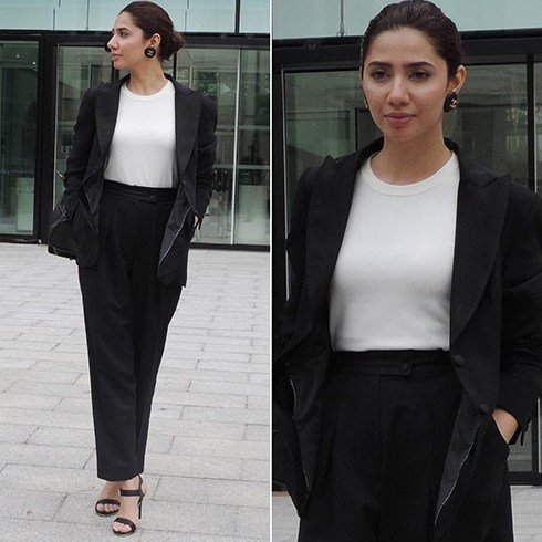 Mahira in Pants
