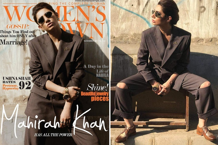 Mahira Khan on Magazine