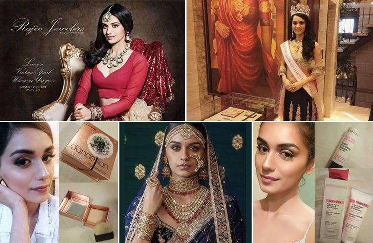 Manushi Chhillar Brands