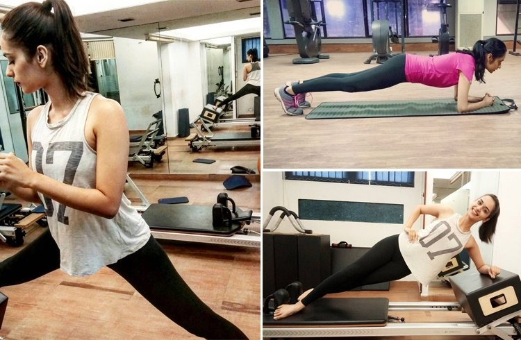 Manushi Chhillar Workout
