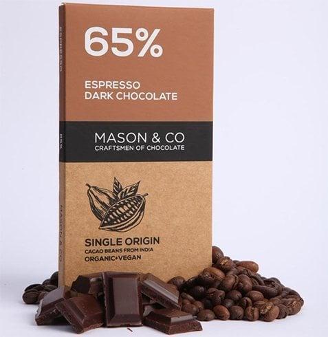 Mason and Co Intense Dark Organic Chocolate