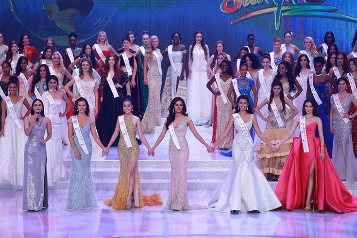 Miss World Contestants