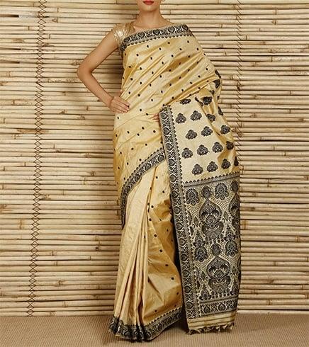 Muga Silk Designs