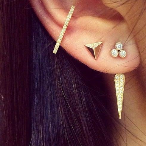 Multiple Earrings Ear Cuff Earrings