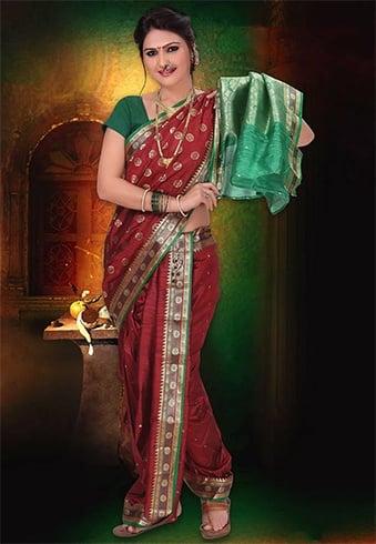 Nauvari Saree Collection