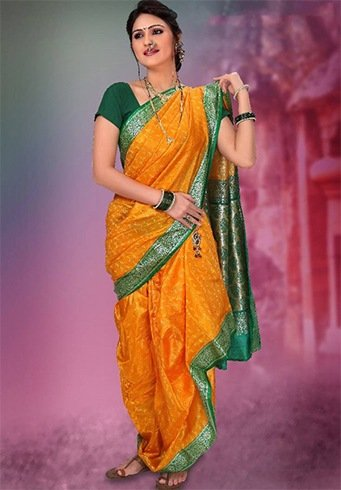 Nauvari Saree Fashion