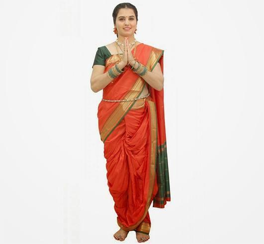Nauvari Saree Styles