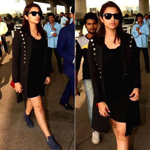 Parineeti Chopra At Airport