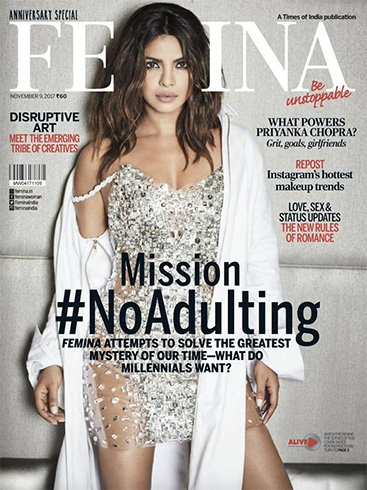 Priyanka Chopra on Femina