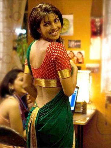 Priyanka in Nauvari Saree