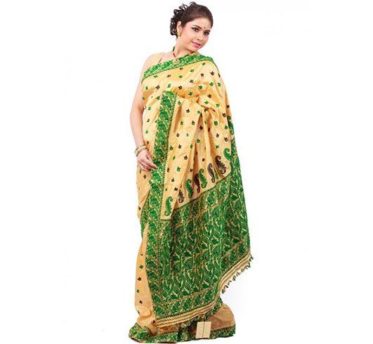 Pure Muga Silk Trend