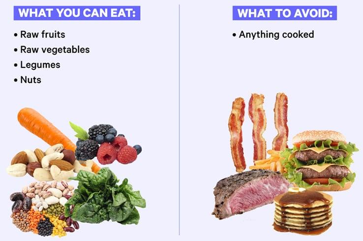 Raw Food Diet Plans