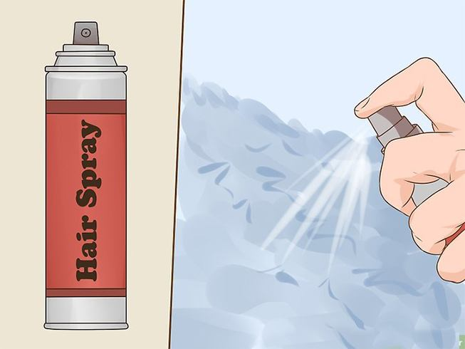 Remove Permanent Marker With Aerosol Spray