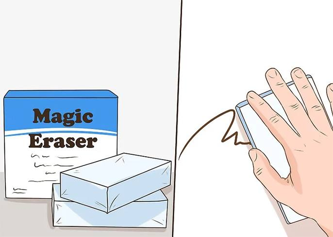 Remove Permanent Marker With Magic Eraser