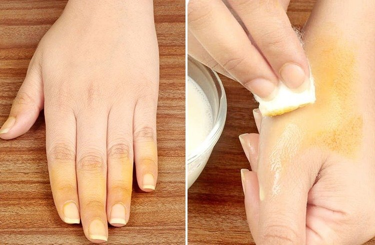 How To Remove Turmeric Stain From Clothes Dishes Skin
