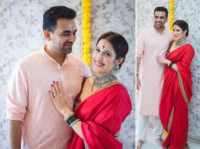 Sagarika Ghatge Wedding