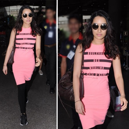 Shraddha Kapoor At Airport