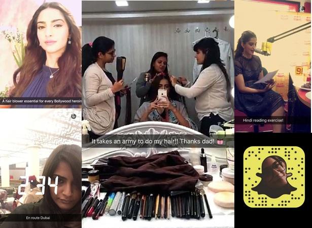 Sonam Snapchat