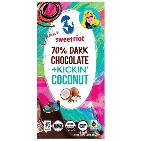Sweetriot Organic Dark Chocolate