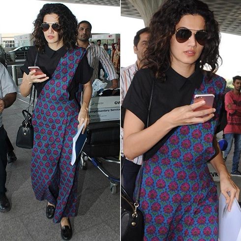 Taapsee Pannu At Airport