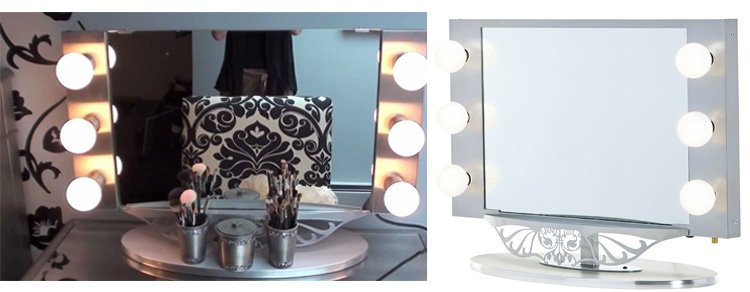 The Future Of Cosmetics The Lighted Makeup Mirror