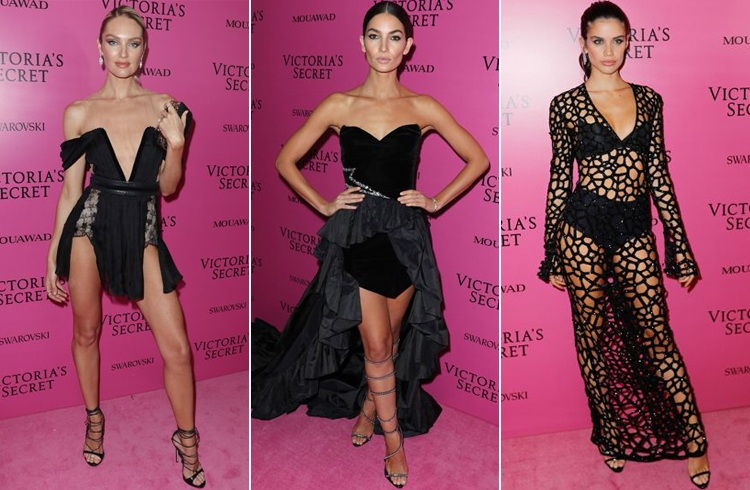 Celebs at Victoria Secret After Party