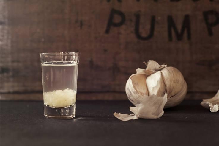 Warm Garlic Water