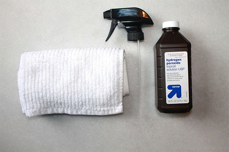 Wash White Clothes With Hydrogen Peroxide