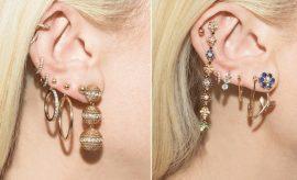 How To Wear Multiple Earrings