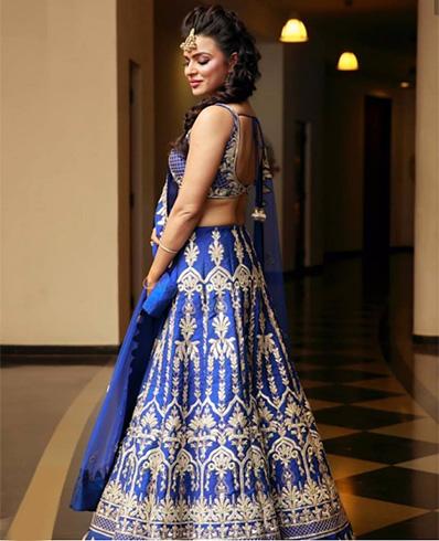 Aashka Goradia Marriage Photos