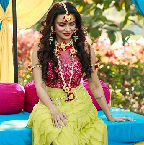 Aashka Goradia Marriage