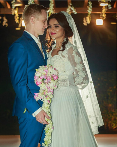 Aashka Goradia Wedding Photos