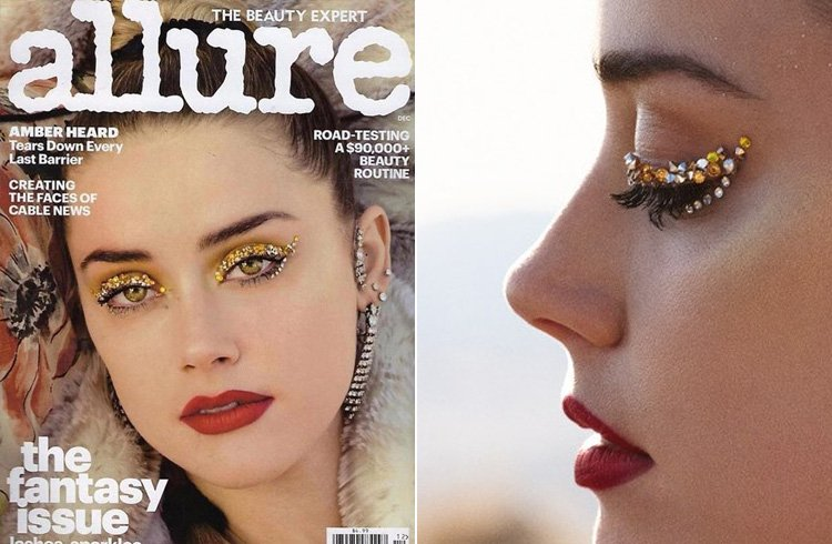 Amber Heard for Allure US